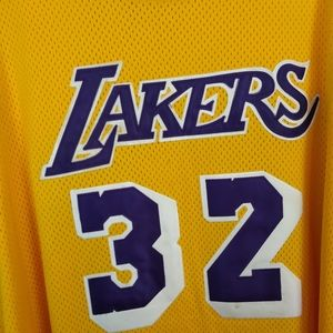 Magic Johnson Lakers Jersey